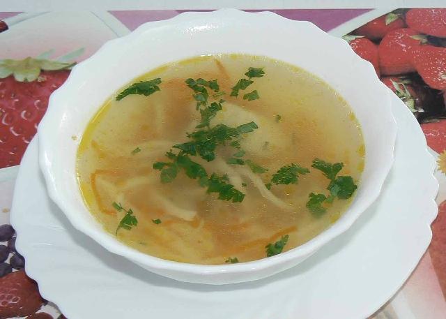 Суп лапша куриная рецепт фото прозрачный